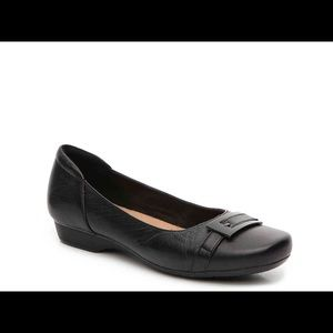 Clarks Collection Blanche West Slip On Flats